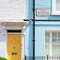 Yellow Door Burnsall Street Chelsea by Tim Gainey