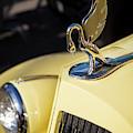 Yellow Packard Automobile  by Brian Jannsen