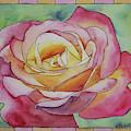 Yellow-rose Rose by Ralph F Wilson