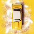 Yellow Street Machine by Jorgo Photography - Wall Art Gallery