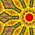 Yellow Sunflower 1d by Artist Dot