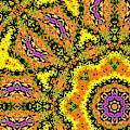 Yellow Sunflower 1f by Artist Dot