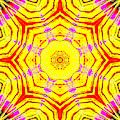 Yellow Sunflower 4b by Artist Dot