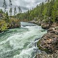Yellowstone River Falling by Matthew Irvin