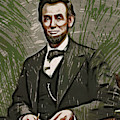 Young Abraham Lincoln  by Doc Braham