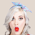 Young Beautiful Woman Holding A Bottle Cap In A Mouth by Jorgo Photography - Wall Art Gallery