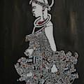 Young Fulani Girl by AMADOU Sanda