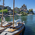 Yvoire, Lac Leman by Arterra Picture Library