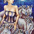 Zebra Moon by Amy E Fraser