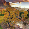 Zion National Park Autumn by Leland D Howard