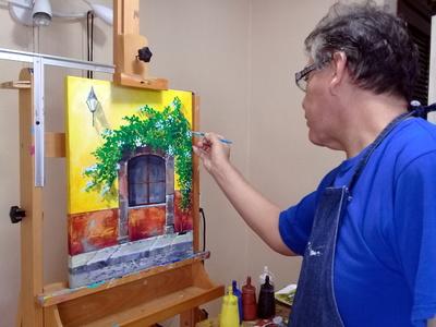 Paint a Mexican Window Live Online Workshop