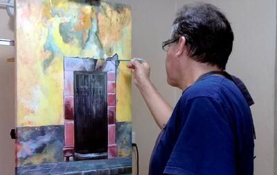Paint a Mexican Door Live Online Workshop