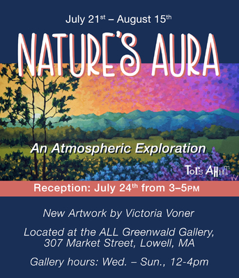 Natures Aura Art Reception