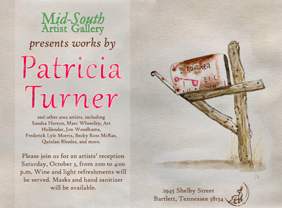 Reception for Featured Artist Patricia Turner
