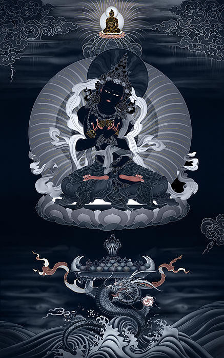 Ben Christian - Vajradhara and the Realm ... Print