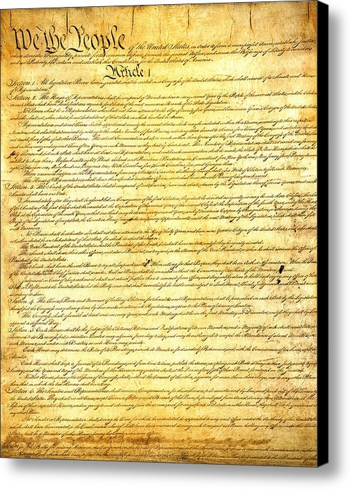 Design Turnpike - The Constitution of the U... Print
