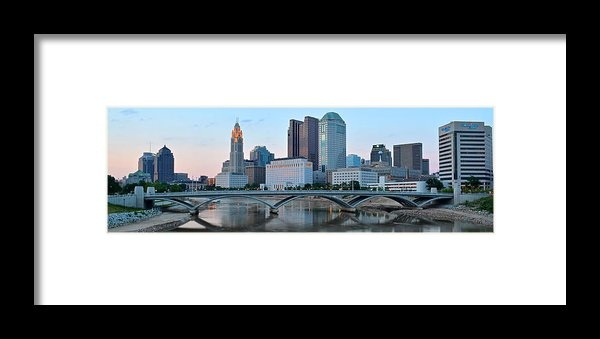 Frozen in Time Fine Art Photography - Columbus Panorama Print