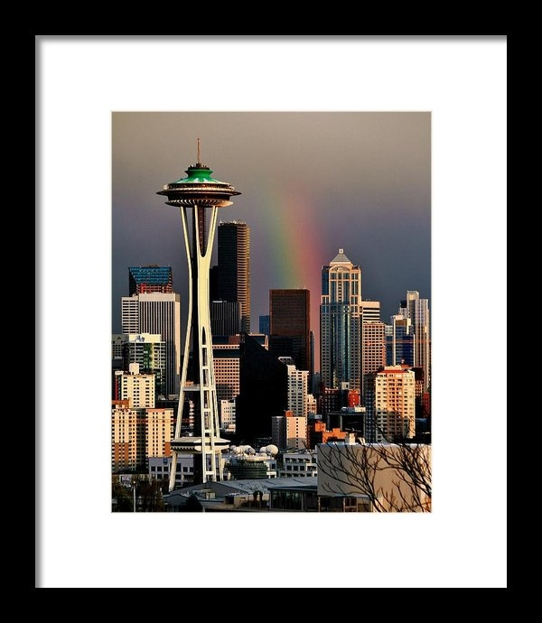 Benjamin Yeager - Colors of Seattle Print