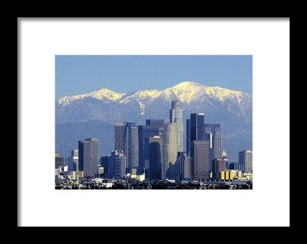 Rene Sheret - Snow in Los Angeles Print