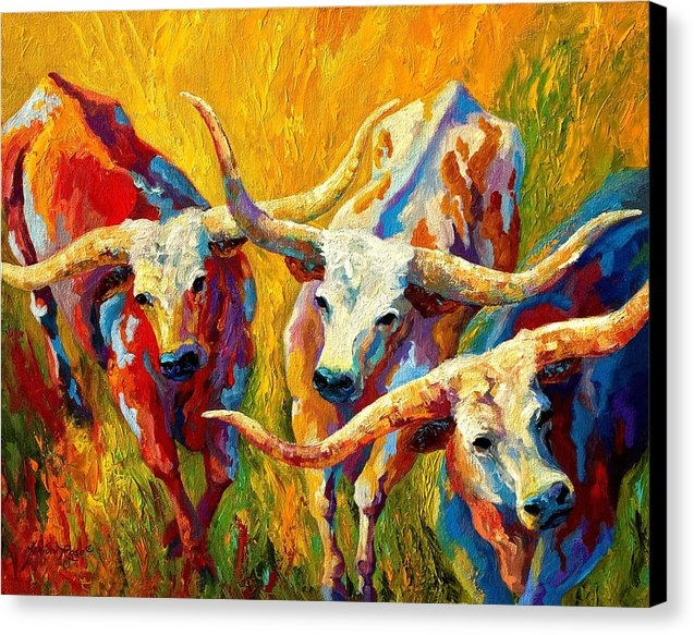 Marion Rose - Dance Of The Longhorns Print