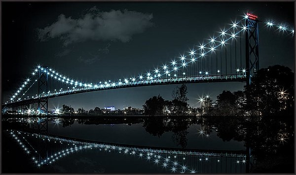 Pat Eisenberger - Reflections of the Detroi... Print