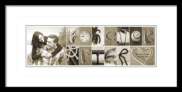 Kathy Stanczak - Forever After Alphabet Ar... Print