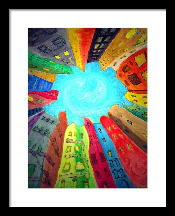 Raul Morales - Urban Mandala 2 detail Print