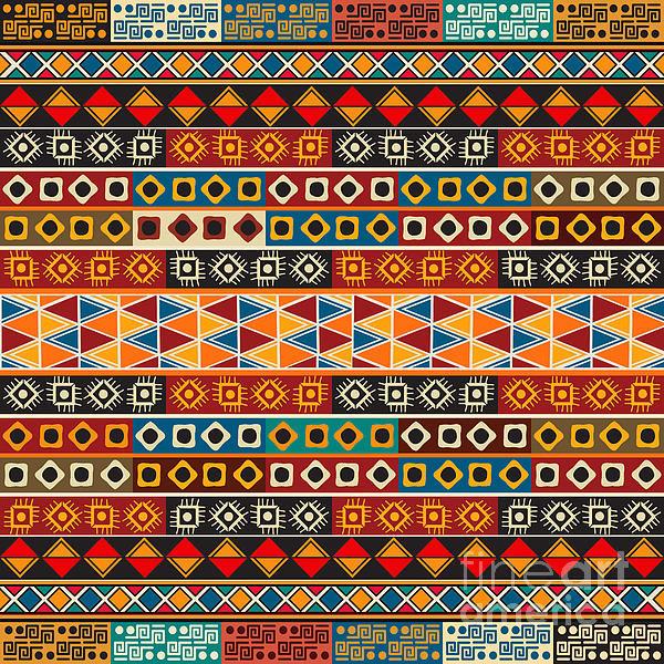 Richard Laschon - Strips motifs pattern Print