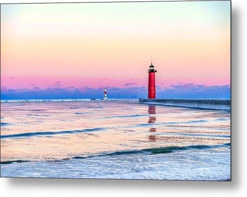 Steven Santamour - Frozen Sunset Print