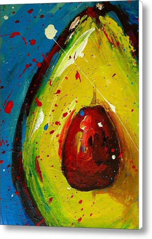 Patricia Awapara - Crazy Avocado 4 Print