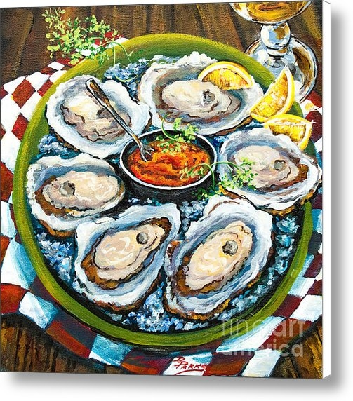 Dianne Parks - Oysters on the Half Shell Print