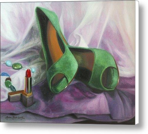 Anna Rose Bain - Party Shoes Print