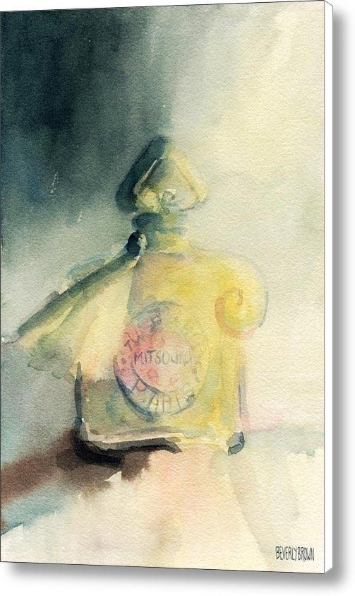 Beverly Brown Prints - Vintage Guerlain Mitsouko... Print