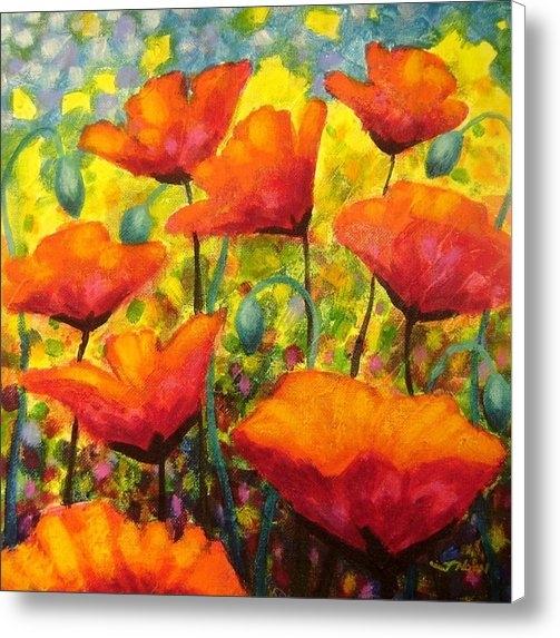 John  Nolan - Poppy Corner Print
