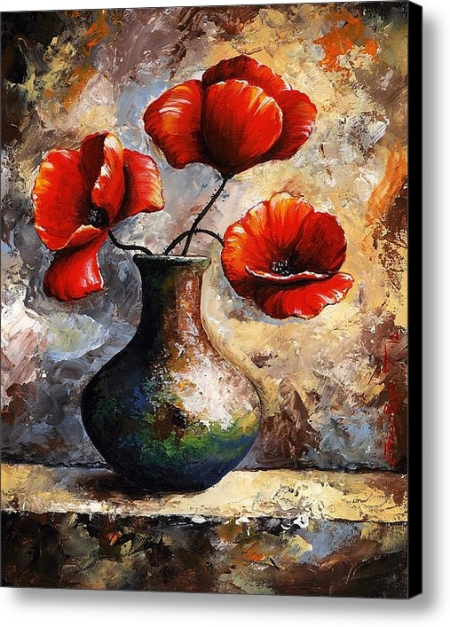 Emerico Imre Toth - Red Poppies Print
