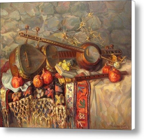 Meruzhan Khachatryan - Still-life with Armenian ... Print