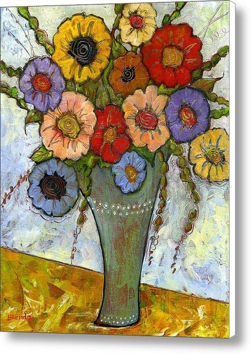 Blenda Studio - Bouquet of Flowers Print