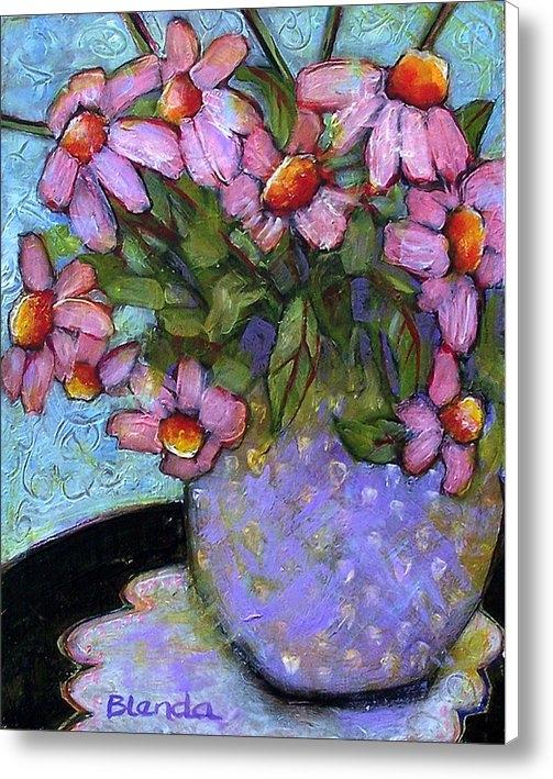 Blenda Studio - Coneflowers in Lavender V... Print