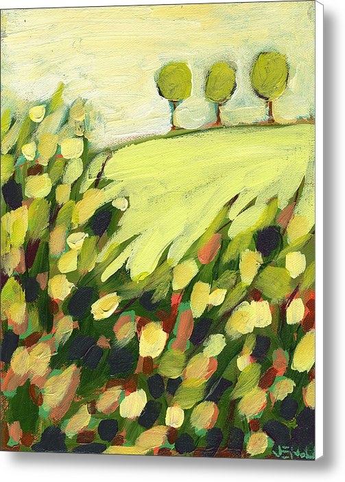 Jennifer Lommers - Three Trees on a Hill Print