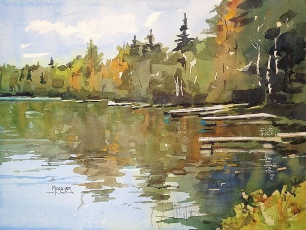 Spencer Meagher - North Country Reflections Print
