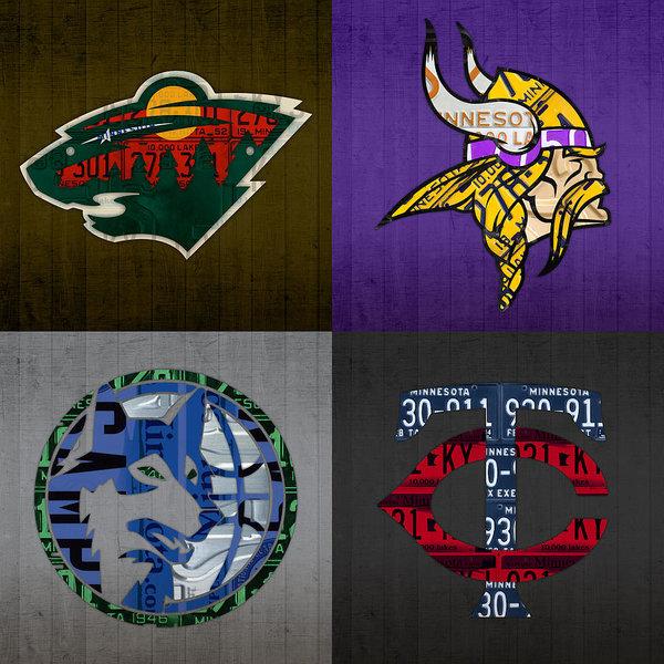 Design Turnpike - Minneapolis Sports Fan Re... Print