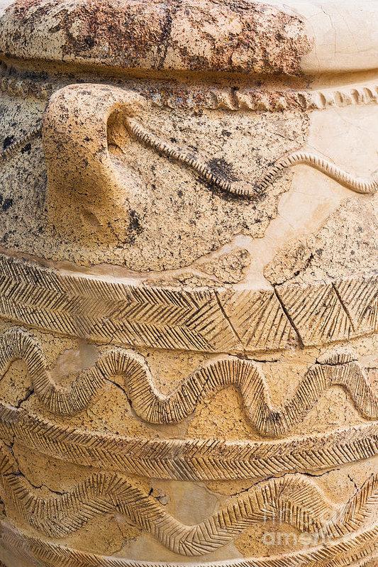Luis Alvarenga - Minoan Jar Print