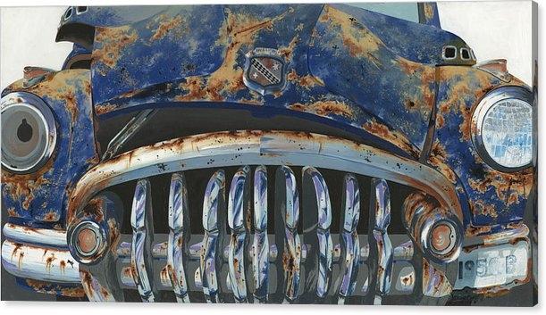John Wyckoff - Big Buxom Buick Print