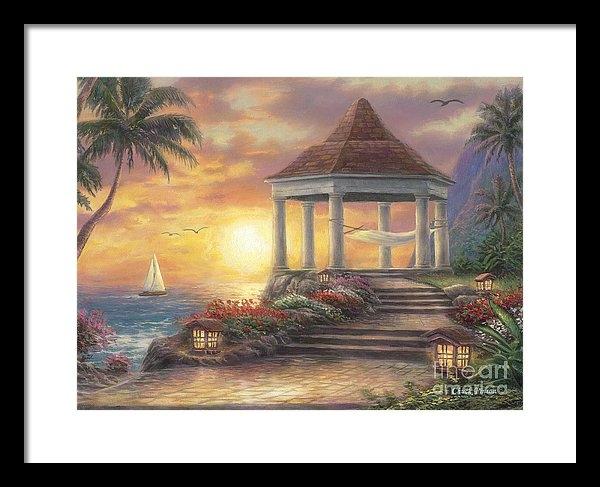 Chuck Pinson - Sunset Overlook Print
