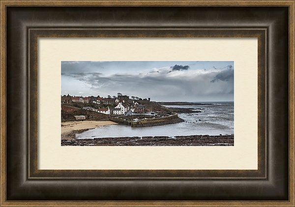 Jeremy Lavender Photography - The Harbour Of Crail Print