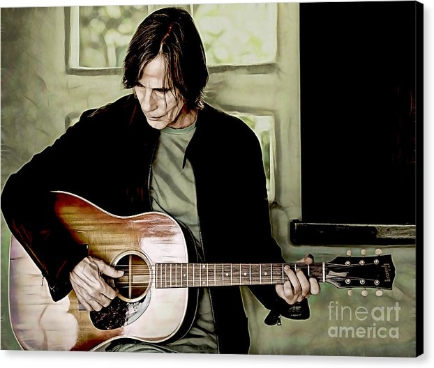 Marvin Blaine - Jackson Browne Collection Print