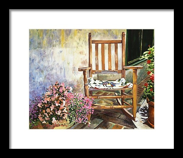 David Lloyd Glover - Aix Country Patio Print