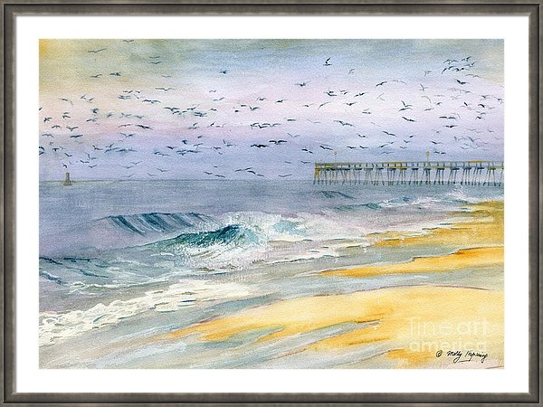 Melly Terpening - Ocean City Maryland Print