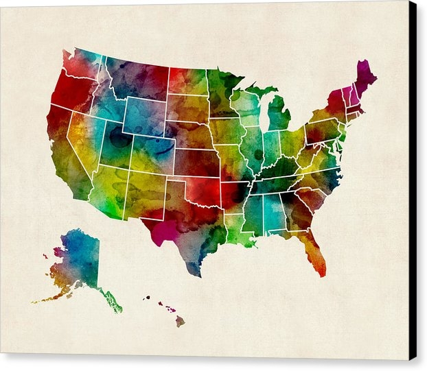 Michael Tompsett - United States Watercolor ... Print