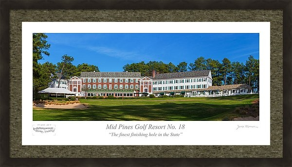 Jerry Norman - Mid Pines Golf Resort No ... Print